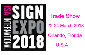 ISA Sign Expo Orlando 2018