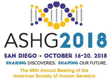 ASHG San Diego 2018