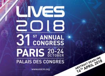 ESICM Paris 2018